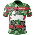 South Sydney Polo Shirts Rabbitohs Indigenous - Animals Aboriginal TH5