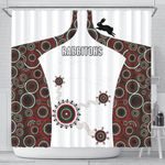 South Sydney Shower Curtain Indigenous Rabbitohs TH5