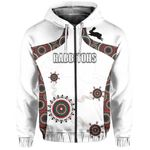 South Sydney Rabbitohs Indigenous Zip-Up Hoodie TH5