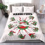Rabbitohs Indigenous Bedding Set Animals Aboriginal TH5