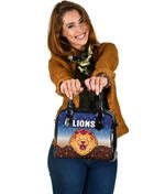 Brisbane Lions Shoulder Handbag Simple Indigenous