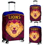 Brisbane Lions Luggage Covers Powerful K8