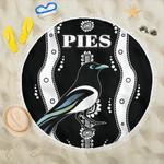 Collingwood Beach Blanket Pies Indigenous - Black K8