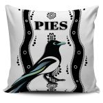 Collingwood Pillow Cover Pies Indigenous - White