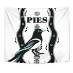 Collingwood Tapestry Pies Indigenous - White K8
