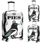 Collingwood Luggage Covers Pies Indigenous - White