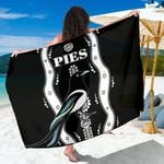 Collingwood Sarong Pies Indigenous - Black K8