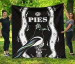 Collingwood Premium Quilt Pies Indigenous - Black K8