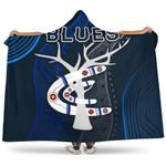 Carlton Hooded Blanket Blues Free Style Indigenous