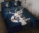 Carlton Quilt Bed Set Blues Free Style Indigenous