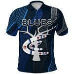 Carlton Polo Shirt Blues Free Style Indigenous