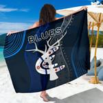 Carlton Sarong Blues Free Style Indigenous