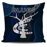 Carlton Pillow Cover Blues Free Style Indigenous
