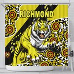 Richmond Shower Curtain Indigenous Tigers
