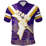 Storm Polo Shirt Indigenous Melbourne Front | rugbylife.co