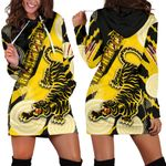 Richmond Women Hoodie Dress Power Tigers - Indigenous   1st New Zealand