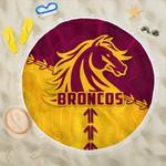 Broncos Beach Blanket Brisbane Aboriginal K4
