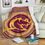 Brisbane Premium Blanket Broncos Aboriginal TH5
