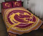 Brisbane Quilt Bed Set Broncos Aboriginal TH5