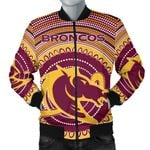 Brisbane Bomber Jacket For Men Broncos Aboriginal TH5