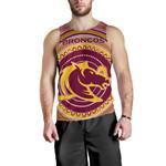 Brisbane Men Tank Top Broncos Aboriginal TH5