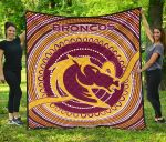 Brisbane  Premium Quilt Broncos Aboriginal TH5