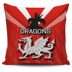 ST.George Pillow Cover Th4