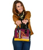 Brisbane Broncos Shoulder Handbag TH4