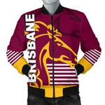 Brisbane Broncos Bomber Jacket for Men TH4