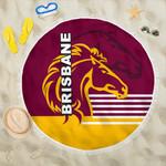 Brisbane Broncos Beach Blanket TH4