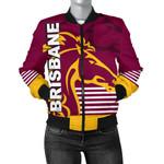 Brisbane Broncos Bomber Jacket for Women TH4