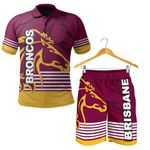 Combo Polo Shirt and Men Short Brisbane T | Rugbylife.co