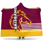 Brisbane Broncos Hooded Blanket TH4