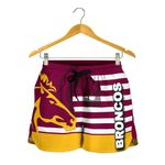Brisbane All Over Print Women's Shorts