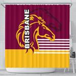 Brisbane Broncos Shower Curtain TH4