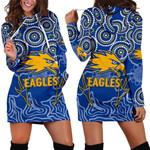 Eagles Indigenous Hoodie Dress West Coast K8
