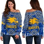 Eagles Indigenous Off Shoulder Sweater West Coast K8