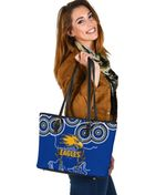 Eagles Indigenous Small Leather Tote West Coast K8