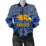 Eagles Indigenous Bomber Jacket West Coast For Women K8