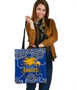 Eagles Indigenous Tote Bag West Coast K8