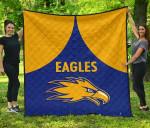 Eagles Premium Quilt West Coast - Royal Blue K8