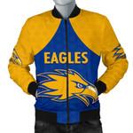 Eagles Bomber Jacket West Coast For Men - Royal Blue K8