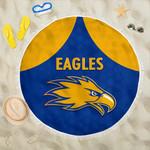Eagles Beach Blanket West Coast - Royal Blue K8