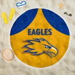Eagles Beach Blanket West Coast - Gold K8
