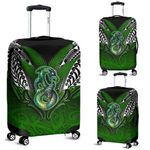 Manaia Mythology Luggage Covers Silver Fern Maori Tattoo | 1st New Zealand
