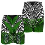 Manaia Mythology Men Shorts Silver Fern Maori Tattoo | 1st New Zealand