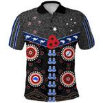 Australia Indigenous Polo Shirt New Zealand Maori Front | 1st New Zealand