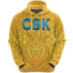 CSK Hoodie Cricket Traditional Pride - Yellow