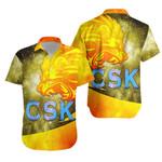 CSK Hawaiian Shirt Cricket Universe Energy Vibes