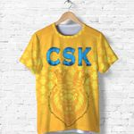 CSK T Shirt Cricket Traditional Pride - Yellow
